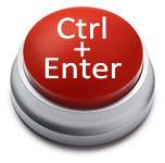 CTRL+ENTER = отправить