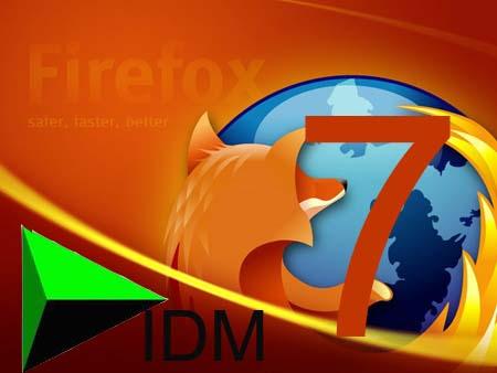 IDM CC для Firefox 7